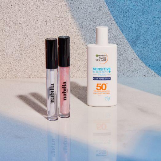 1 lipstick + 1 crème solaire visage 50+ offerte
